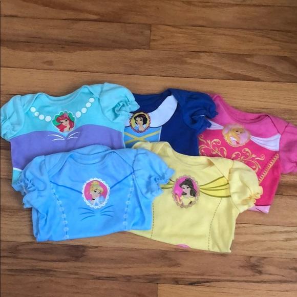 Disney Other - Disney princess bodysuits